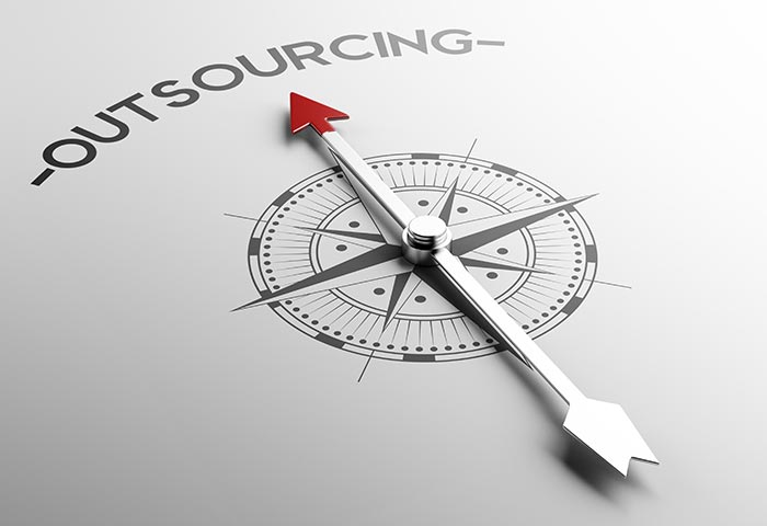 Outsourcing and projects