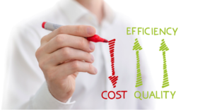 Outsourcing is cost-effective solution for efficiency and quality of services